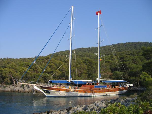 MS Tarkan 5 on anchor