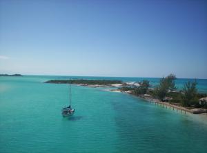 Bahamas - quiet anchering
