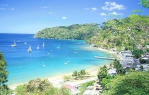 Caribbean side of central America