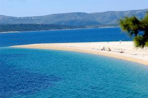Split beaches around Split