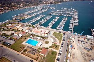 Corfu's Gouvia marina