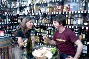 Wine tasting in and Enoteca in Sicily