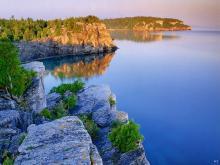 Lake Huron Ontario Canada