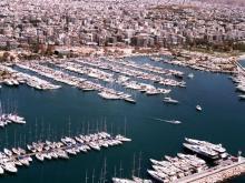 Alimos marina in Kalamaki Athens